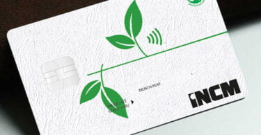 cartões sustentáveis