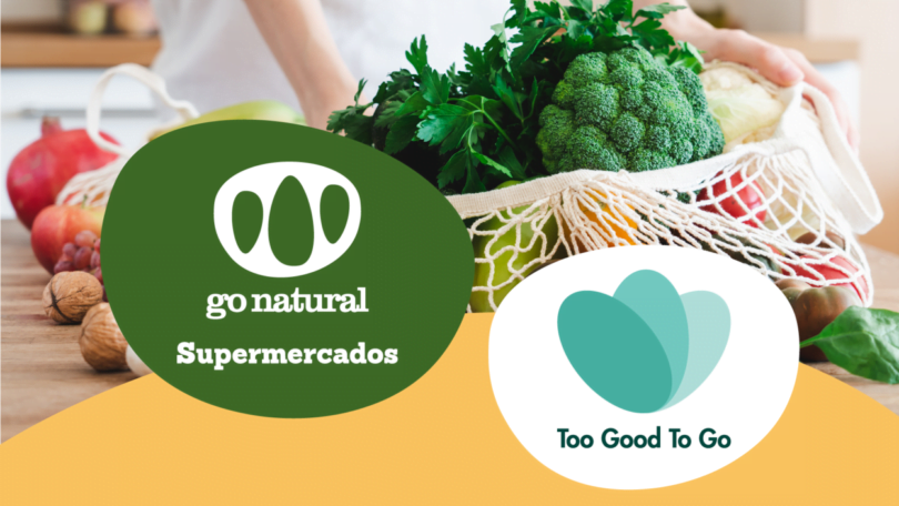 SUPERMERCADOS GO NATURAL JUNTAM SE À TOO GOOD TO GO NO COMBATE AO DESPERDÍCIO ALIMENTAR e