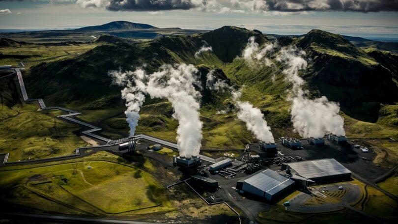 CO2 é transformado em pedra por start-up islandesa