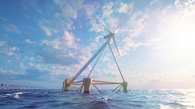 A EDP juntou-se ao consórcio europeu que está a testar em alto mar, ao largo das ilhas Canárias, uma plataforma eólica flutuante.