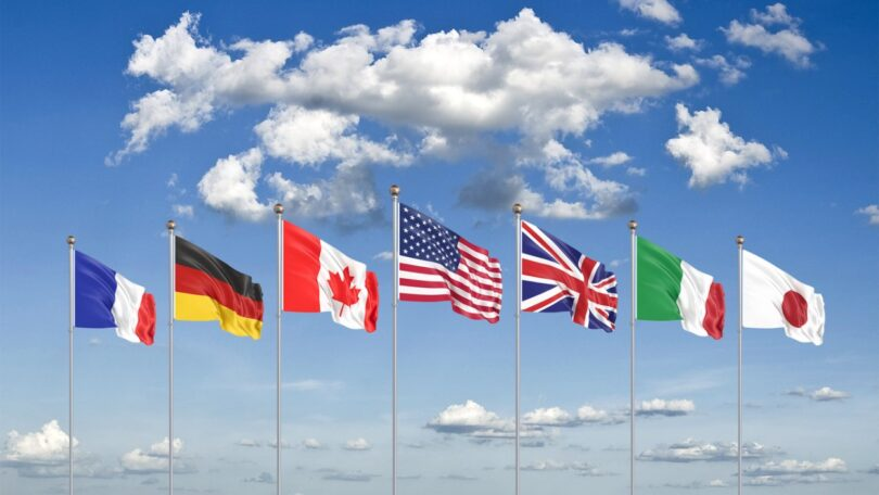 Os países do G7 poderão perder 8,5% do PIB anualmente, dentro de 30 anos se as temperaturas aumentarem 2,6 graus celsius.