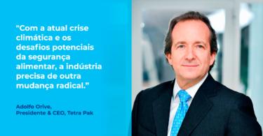 """A Tetra Pak foi considerada como uma das """"50 Líderes em Sustentabilidade e Clima"""", uma iniciativa da TBD Media Group e das Nações Unidas."""