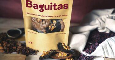 """As """"Baguitas"""", um novo snack que reaproveita resíduos vinícolas e subprodutos agroalimentares venceu o Prémio Ecotrophelia Portugal."""